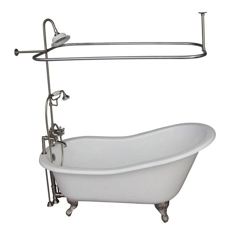 Installing a Clawfoot Tub Shower with Video Guide - FaucetList.com