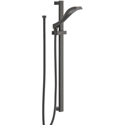 Delta Venetian Bronze Modern Handheld Showerhead Faucet with Slide Bar 526548