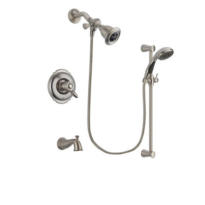Stainless Steel Finish Easy Install Shower Systems