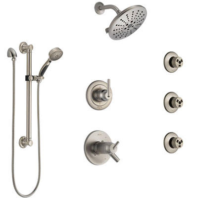 Stainless Steel Full Custom Shower Systems