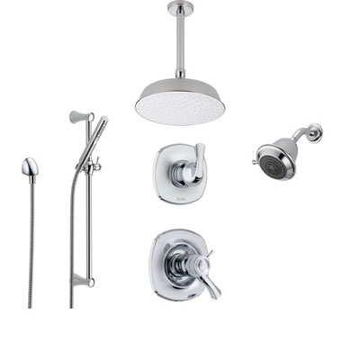 Chrome Shower Systems