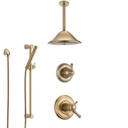 Champagne Bronze Shower System