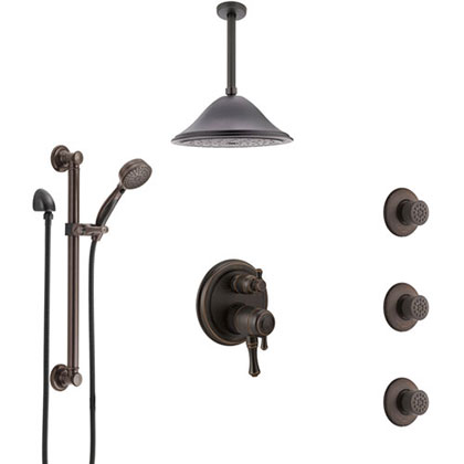 Venetian Bronze Shower Systems
