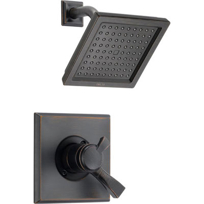 Delta Dryden Venetian Bronze Temp/Volume Control Shower Faucet with Valve D682V