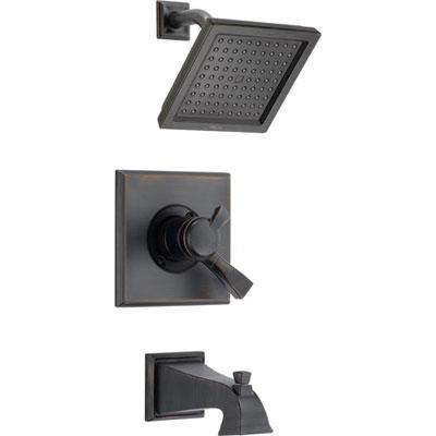 Complete Venetian Bronze Delta Shower Faucets