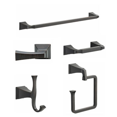 Delta Venetian Bronze Bathroom Accessories