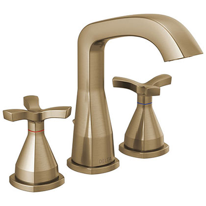 Delta Champagne Bronze Finish Bathroom Sink Faucets Category