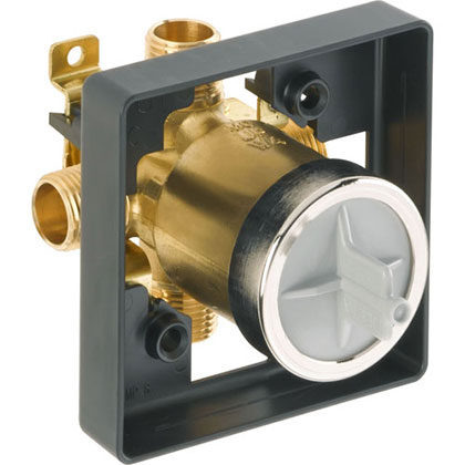 Delta R10000-UNBX Shower Tub Combo Valve without Stops