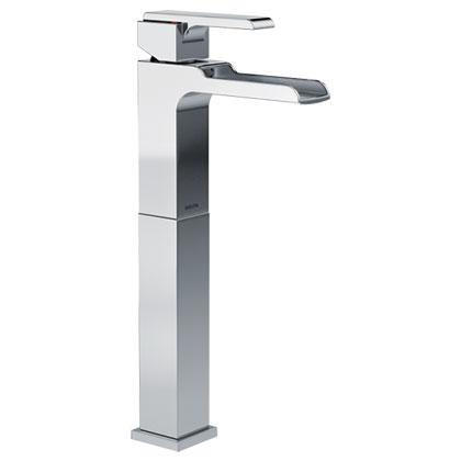 Delta Ara Collection Chrome Vessel Sink Faucet