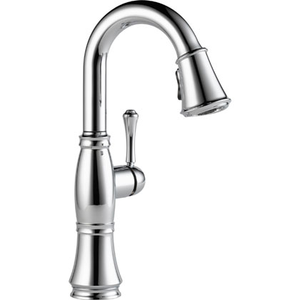 Delta Cassidy Collection Chrome Bar Faucets