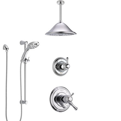 Delta Cassidy Collection Shower System with Thermostatic Shower Control