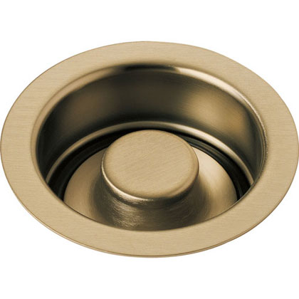 Delta Champagne Bronze Garbage Disposal Flange and Stopper