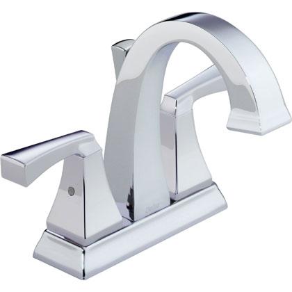 Delta Dryden Collection Chrome Centerset Bathroom Faucet
