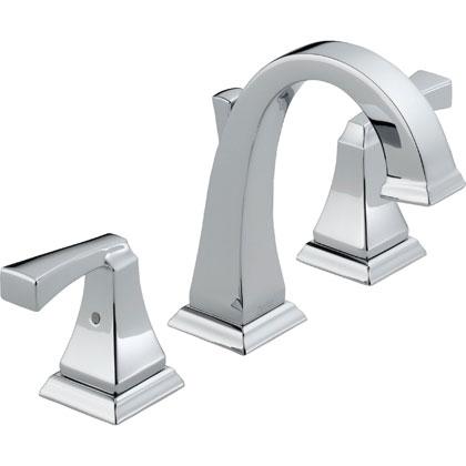 Delta Dryden Collection Chrome Widespread Bathroom Faucet