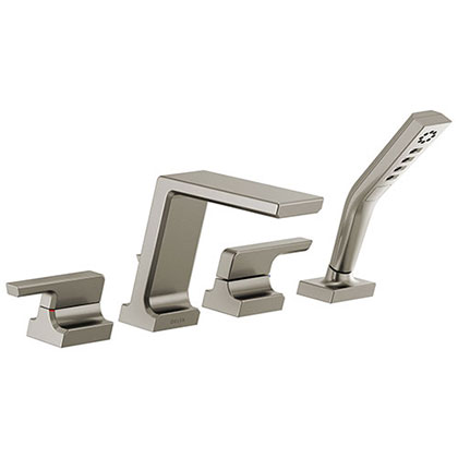 Delta Roman Tub Filler Faucets with Valve and Trim