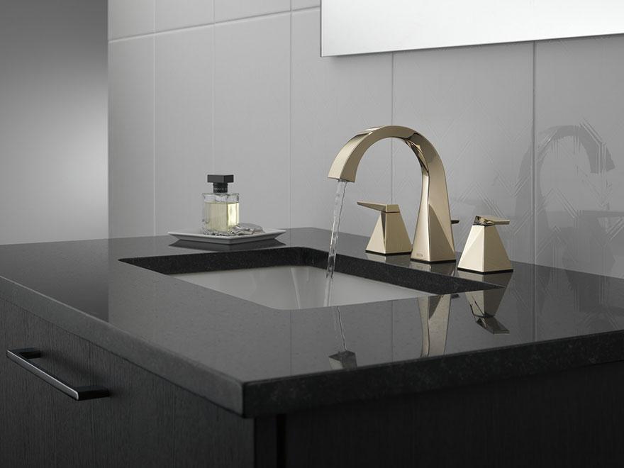Delta Trillian Collection Polished Nickel Bathroom Sink
