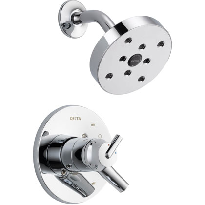 Delta Trinsic Collection Chrome Shower Only Faucet with Thermostatic Control