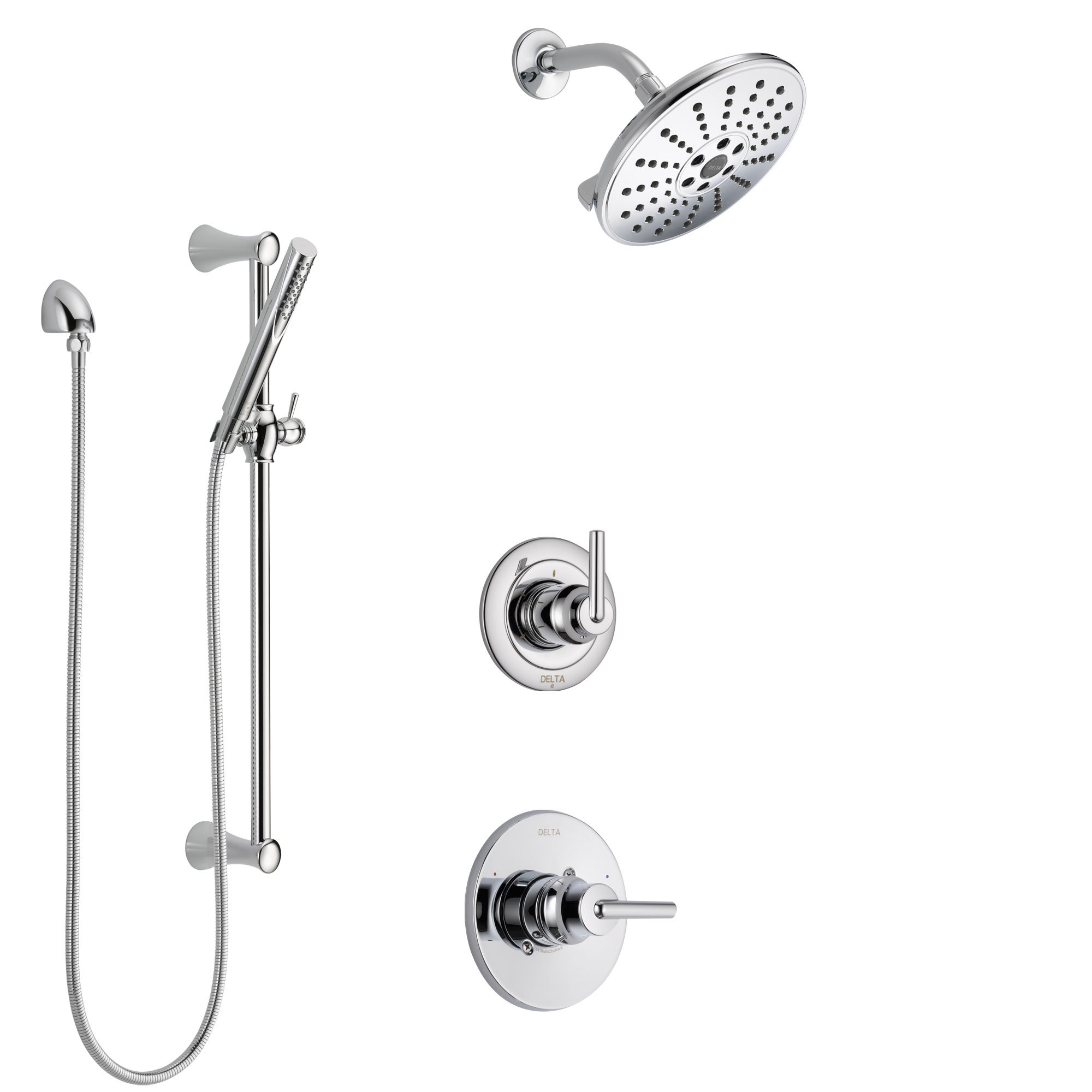 Delta Trinsic Collection Chrome Shower System with Hand Shower
