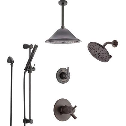 Delta Venetian Bronze Finish Full Custom Shower Systems