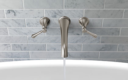 Delta Wall Mount Tub Filler Faucets