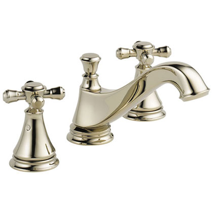 Delta Polished Nickel Finish Bathroom Sink Faucets Category