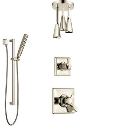 Delta Polished Nickel Finish Full Custom Shower System Category
