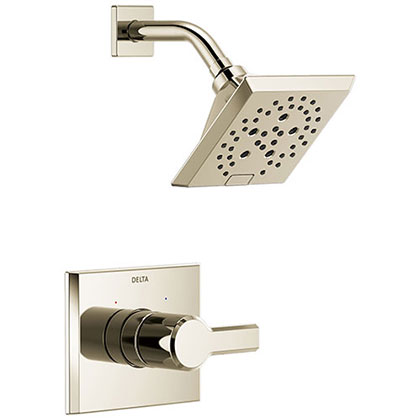 Delta Polished Nickel Finish Shower Faucets Category