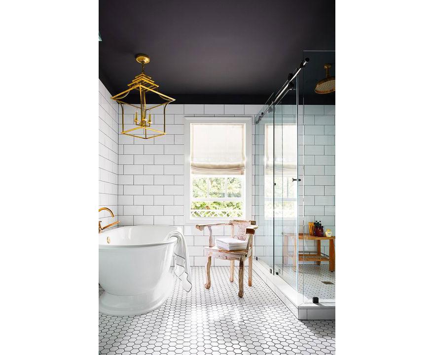 Gold Bathroom Statement Lighting
