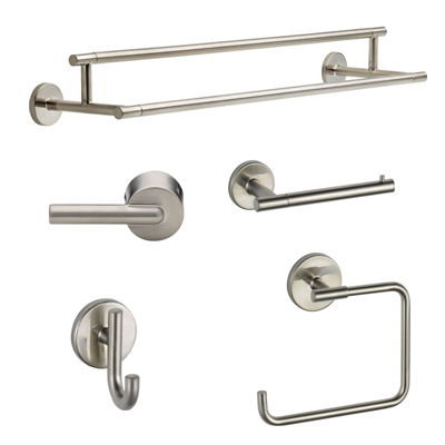 Delta Stainless Steel Finish Bathroom Accessories