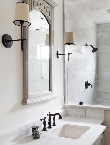 Venetian Bronze Finish Widespread Faucet and Shower Only Faucet