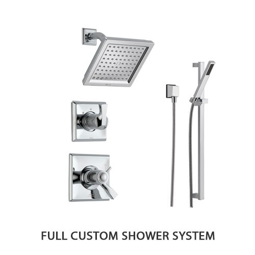 Full Custom Shower System