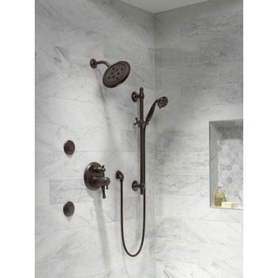 Building a Custom Shower System using a Delta Shower System Control with Integrated Diverter