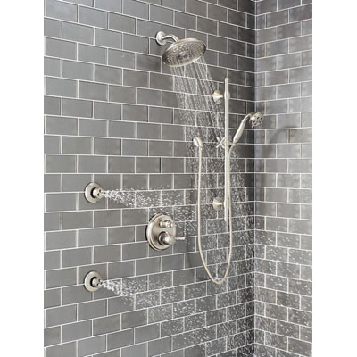 Delta Shower System HydraChoice Body Sprays with Video