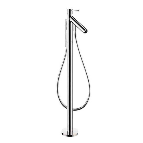 Axor Starck 1-Handle Freestanding Deck-Mount Roman Tub Faucet Trim Kit in Chrome (Valve Not Included) 242645
