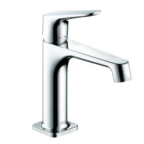 Axor Citterio M Single Hole 1-Handle Low Arc Bathroom Faucet in Chrome 412309