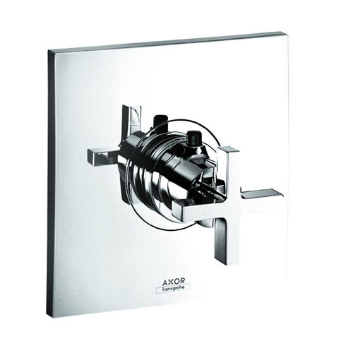 Axor 1-Handle Citterio Valve Trim Kit in Chrome (Valve Not Included) 513082