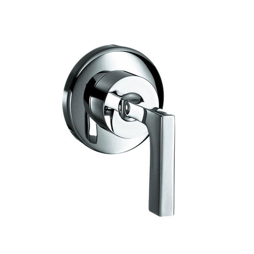 Axor 1-Handle Citterio Valve Trim Kit in Chrome (Valve Not Included) 513088