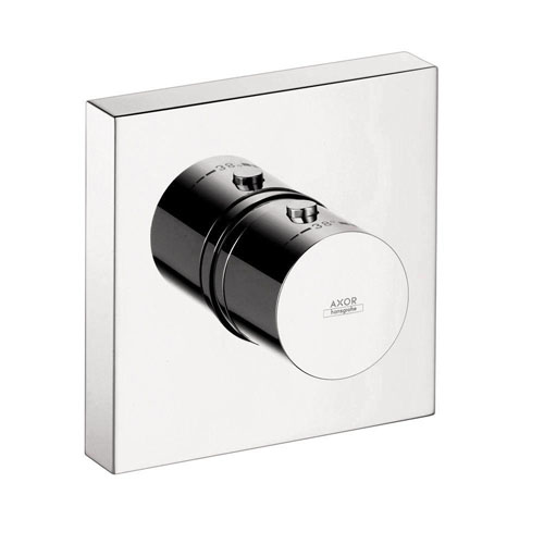 Axor Starck Shower Collection 1-Handle Thermostatic Valve Trim Kit in Chrome (Valve Not Included) 575787