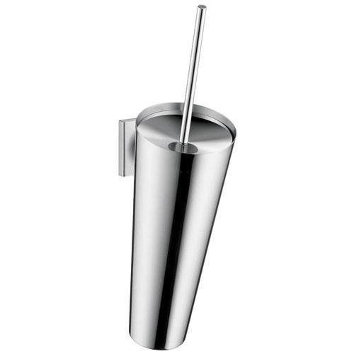 Axor Starck Organic Toilet Brush with Holder in Chrome 634044