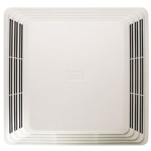 Broan 684 White Ceiling Mount 80 CFM 2.5-Sones Bathroom Ventilation Exhaust Fan
