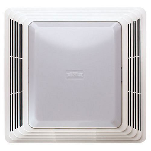 Broan 679 Ceiling Mount Bathroom Exhaust Ventilation Fan and Light Combination
