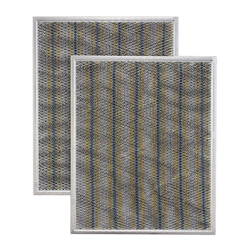 Broan-Nutone Allure 1, 2, 3 Series 30 inch Range Hood Non-Ducted Charcoal Replacement Filter (2-Pack) 518416