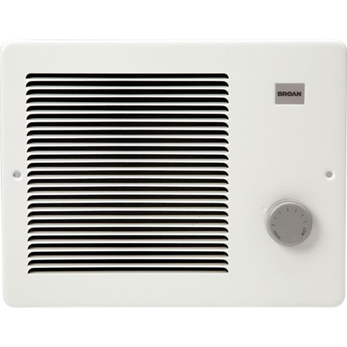 Broan 174 White Small Electric Wall Mounted Heater With