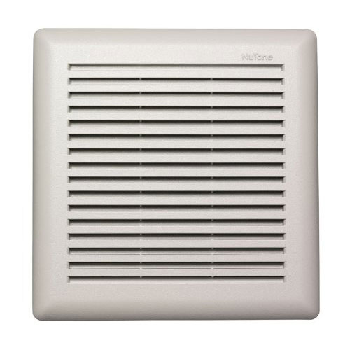 Nutone 671R 90 CFM Quiet White Grille Ceiling Mount Bath Ventilation Exhaust Fan