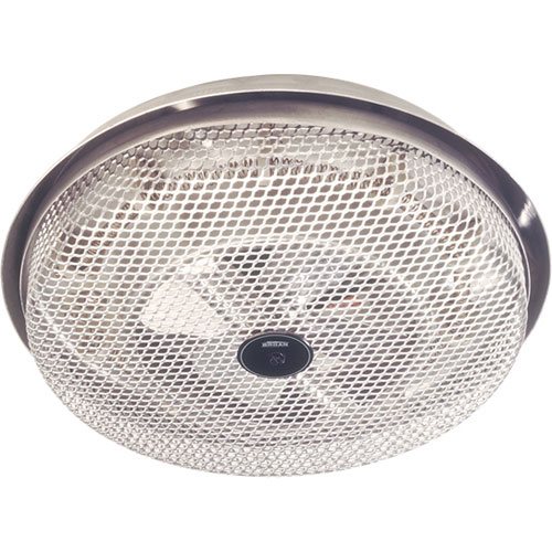 Broan 154 Satin finish Wire Element 1250 watt Fan Forced Ceiling Mount Heater
