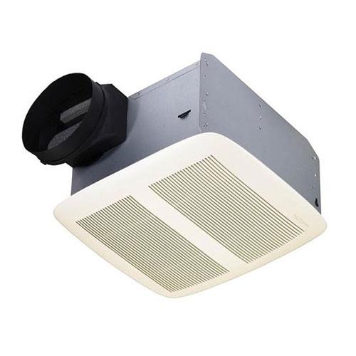 Nutone QTXEN150 Ultra Silent Series White 150 CFM Bathroom Exhaust Vent Fan