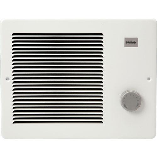 Broan 170 Rapid Warm Wall Heater, 500/1000 Watt 120 VAC with Thermostat Dial