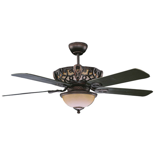 Concord Fans 52 Quot Aracruz Oil Rubbed Bronze Ceiling Fan Up Amp Downlight Faucetlist Com