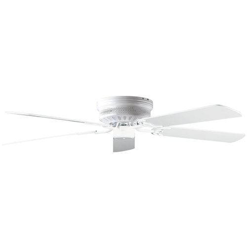 "Wholesale High Quality American Retro Ceiling Fans Simple: Concord Fans 52"" Low Profile Hugger White Ceiling Fan"