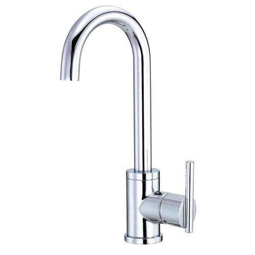 Danze Parma Chrome Single Side Lever Handle Bar Faucet